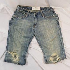 Paper Denim & Cloth distressed bootcut jeans sz 27